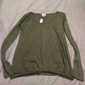 Green Long sleeve Old Navy Top
